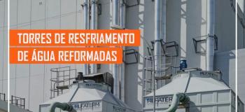 Manutenção de torres de resfriamento de agua